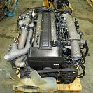 JDM Toyota Supra 1JZ GTE Rear Sump 2.5L Non-VVTi Turbo Long Block Engine ECU