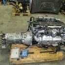JDM 94-98 Toyota Supra 2JZ GTE Twin Turbo Engine 6 Speed Getrag Transmission Gearbox