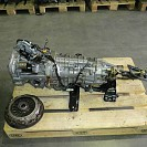 JDM 04-05 Subaru WRX Sti 6 Speed DCCD AWD Transmission, axles stubs, TY856WB3KA 3.90FD